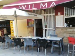 Bar Wilma Almuerzos en Náquera.