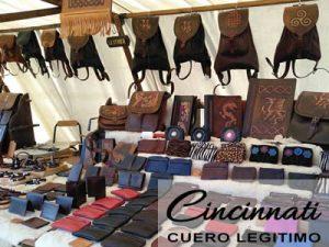 Marroquinería y artesanía en cuero. Cinturones, carteras, riñoneras. Productos personalizados por encargo.
