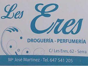 Paquetería y Droguería en Serra - Les Eres
