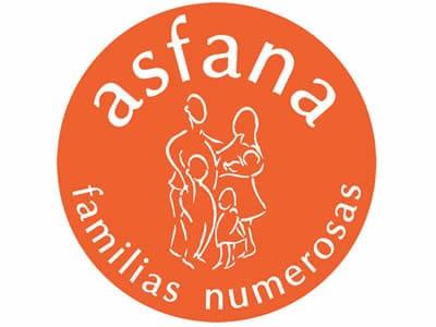 ASFANA - Asociación de familias numerosas de la provincia de Valencia.