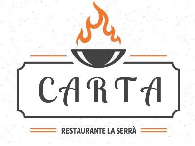 Carta Restaurante asador Serra